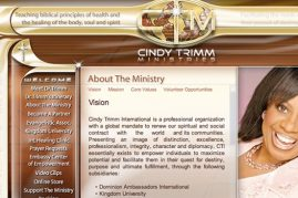 Cindy Trimm Website