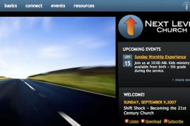 Next Level Church Website