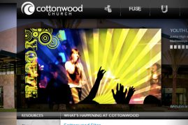 Cottonwood Church Website
