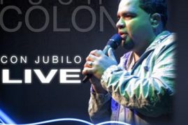 Puchi Colon &#8211; CON JUBILO &#8211; REJOICE (LIVE)