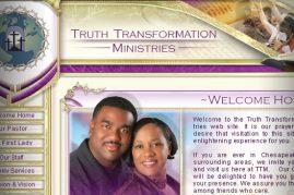 Truth Transformation Ministries Website