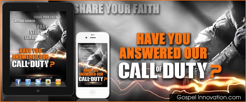 Our Call Of Duty Gospel Wallpaper